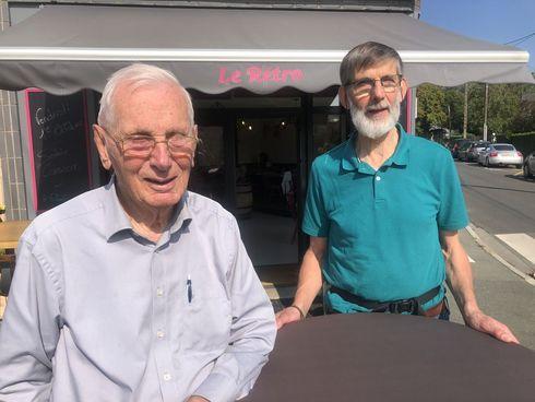 Louis Bouchez, témoin de la libération de Sainte Gemmes-sur-Loire