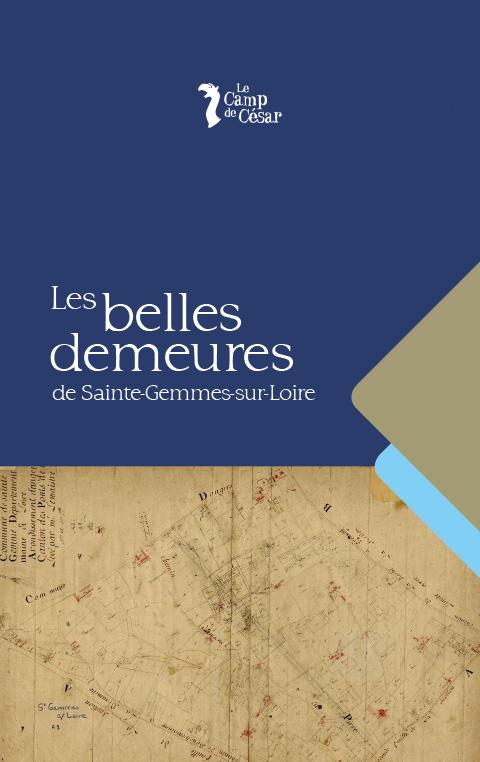 Livre Belle demeure Ste Gemmes sur Loire