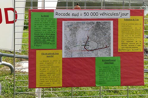 Rocade sud = 50000 Véhicules par jour