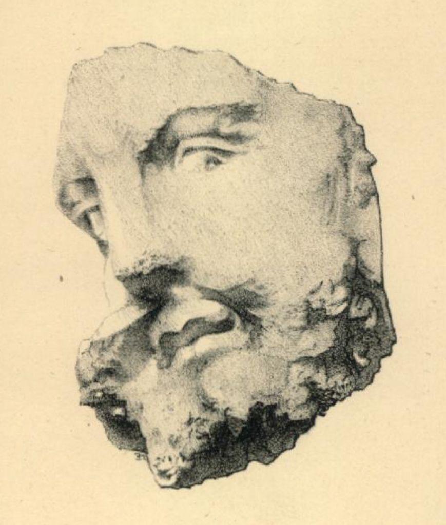 Tête de Jupiter ? (Musée d'Angers)